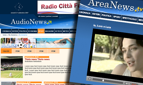 pagina interna Areanews